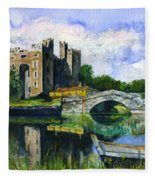 Bunratty Castle Fleece Blanket