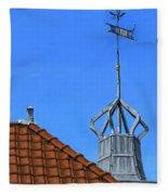 Bureau Of Tourism Amsterdam Fleece Blanket