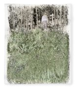 Burial Ground Fleece Blanket