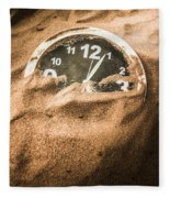 Buried In The Sands Of Time Fleece Blanket