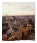 Burma Landscape Fleece Blanket