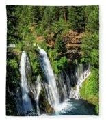Burney Falls Fleece Blanket