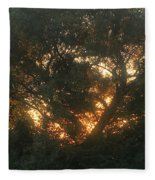 Burning Bush Fleece Blanket