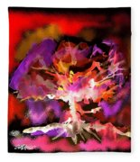 Burning Bush Fleece Blanket
