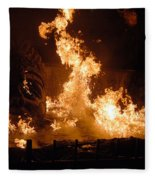 Burning Water Fleece Blanket