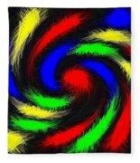 Burst Of Color Fleece Blanket
