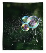 Bursting In Air Fleece Blanket