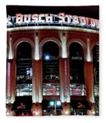 Busch Stadium Fleece Blanket