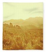 Bushland Of Western Dynamics Fleece Blanket