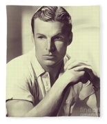 Buster Crabbe, Vintage Actor Fleece Blanket