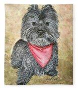 Buster Fleece Blanket