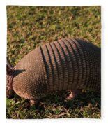 Busy Armadillo Fleece Blanket