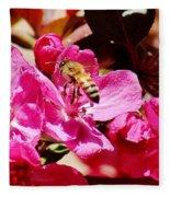 Busy As A Bee 031015 Fleece Blanket