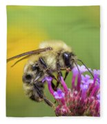 Busy As A Bee Fleece Blanket