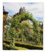 Butchart Gardens Arches Fleece Blanket