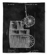 Butcher's Wagon Patent Fleece Blanket