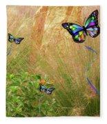 Buterflies Dream Fleece Blanket