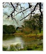 Butlers Retreat Epping Forest Uk Fleece Blanket