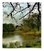 Butlers Retreat Epping Forest Uk Fleece Blanket