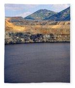 Butte Montana - Lake Berkeley Fleece Blanket