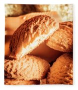 Butter Shortbread Biscuits Fleece Blanket