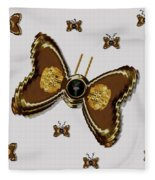 Butterflies For The Worlds  Future Fleece Blanket