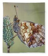 Butterfly - Meadow Satyrid Fleece Blanket