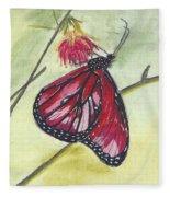 Butterfly 12 Fleece Blanket