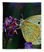 Butterfly 18718 Fleece Blanket