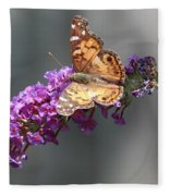 Butterfly 3 Fleece Blanket