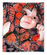 Butterfly Baby Fleece Blanket