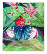 Butterfly Buffet Fleece Blanket