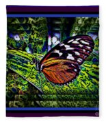 Butterfly Dreams Fleece Blanket