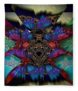 Butterfly Effect 2  Fleece Blanket