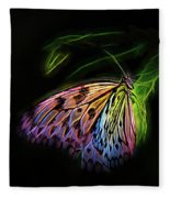 Butterfly Fantasy 1a Fleece Blanket