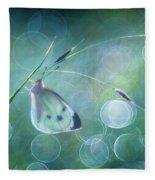 Butterfly Imagination Fleece Blanket