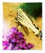 Butterfly Journey Fleece Blanket