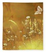 Butterfly Kiss Fleece Blanket