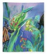 Butterfly Mammas Fleece Blanket