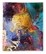 Butterfly Mind Fleece Blanket