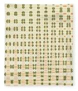 Butterfly Multiplication Abstract, Fleece Blanket