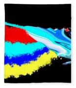 Butterfly Painting Fleece Blanket