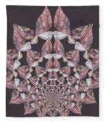 Butterfly Rock Fleece Blanket