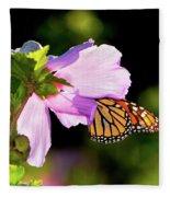 Butterfly Sunset Fleece Blanket
