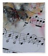 Butterfly Symphony Fleece Blanket
