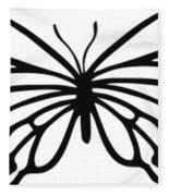 Butterfly Trio  Fleece Blanket