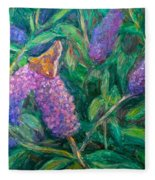 Butterfly View Fleece Blanket