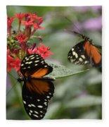 Butterfly2 Fleece Blanket