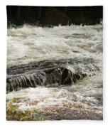 Buttermilk Falls Bubbles Fleece Blanket
