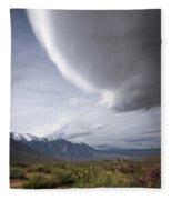 Buttermilks Sky Fleece Blanket